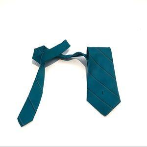 Aqua Blue Tie by Yves Saint Laurent
